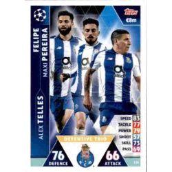Pereira - Telles - Felipe UCL Trio UP115 Match Attax Champions 2018-19