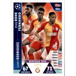 Donk - Fernando - Rodrigues UCL Trio UP117 Match Attax Champions 2018-19