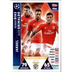 Dias - Jardel - Grimaldo UCL Trio UP120 Match Attax Champions 2018-19