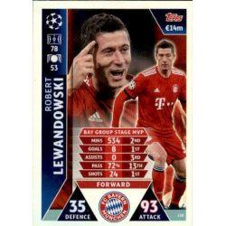 Lewandowski UCL Group Stage MVP UP138 Match Attax Champions 2018-19