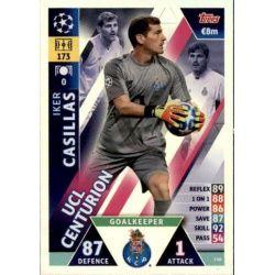 Iker Casillas UCL Centurion UP146 Match Attax Champions 2018-19