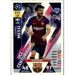 Lionel Messi UCL Centurion UP148