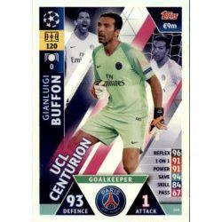 Gianluigi Buffon UCL Centurion UP149 Match Attax Champions 2018-19