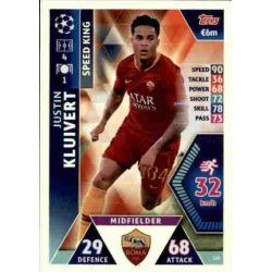 Justin Kluivert Speed King UP169 Match Attax Champions 2018-19