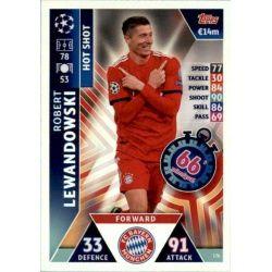 Lewandowski Hot Shot UP176 Match Attax Champions 2018-19