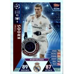 Kroos Group Stage Record-Holder UP180 Match Attax Champions 2018-19