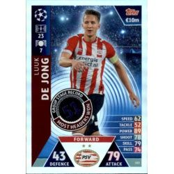 de Jong Group Stage Record-Holder UP183 Match Attax Champions 2018-19