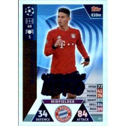 James UCL Group Stage Hero UP205 Match Attax Champions 2018-19