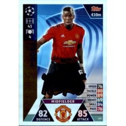 Pogba UCL Group Stage Hero UP208 Match Attax Champions 2018-19