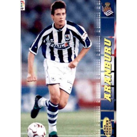 Aranburu Real Sociedad 298 Megacracks 2004-05