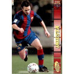 Iniesta Barcelona 67 Megacracks 2004-05