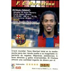 Ronaldinho Barcelona 68 Megacracks 2004-05