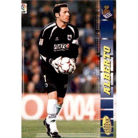 Alberto Real Sociedad 291 Megacracks 2004-05