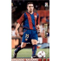 Fernando Navarro 62 Megafichas 2003-04
