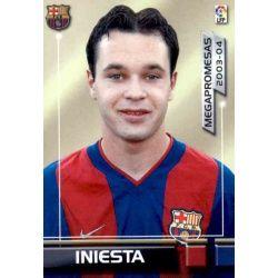 Iniesta Megapromesas Barcelona 398 Megafichas 2003-04