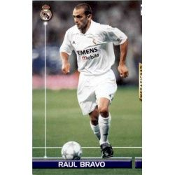 Raul Bravo Fichas Bis Real Madrid 154 Bis