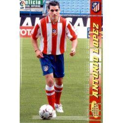 Antonio Lopez Atletico Madrid 43 Megacracks 2004-05