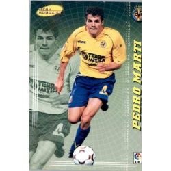 Pedro Martí Mega Rookies Villarreal 411 Megacracks 2004-05