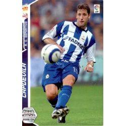 Capdevila Deportivo Coruña 135 Megacracks 2005-06