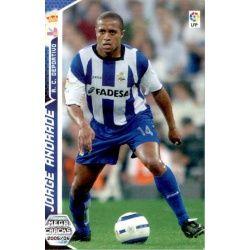 Jorge Andrade Deportivo Coruña 132 Megacracks 2005-06