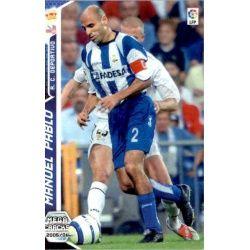 Manuel Pablo Deportivo Coruña 130 Megacracks 2005-06