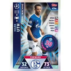 Mark Uth - Goal Machine FC Schalke 04 107 Match Attax Champions 2018-19