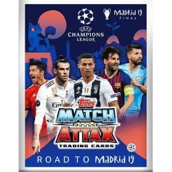 Colección Topps Match Attax Road To Madrid 2019