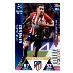 Jose Maria Giménez Atlético de Madrid OD06