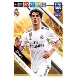 Álvaro Odriozola Real Madrid UE14 FIFA 365 Adrenalyn XL