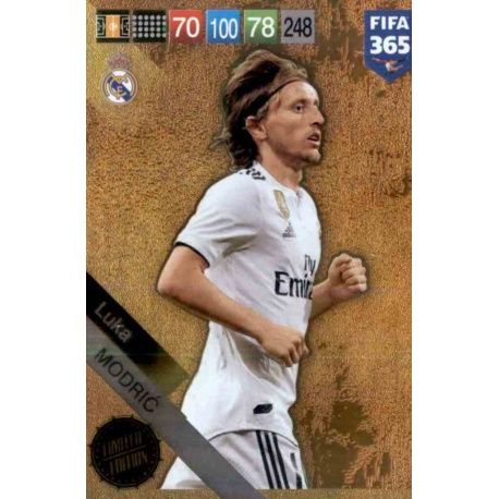 PANINI FIFA 365 cards 2018-Luka Modric-Limited Edition