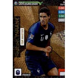 Raphaël Varane Top Master 5 Adrenalyn XL Road To Uefa Euro 2020