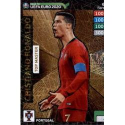 Cristiano Ronaldo Top Master 6 Adrenalyn XL Road To Uefa Euro 2020