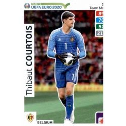 Thibaut Courtois Belgium 10 Adrenalyn XL Road To Uefa Euro 2020