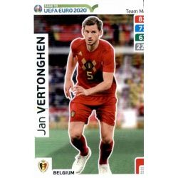 Jan Vertonghen Belgium 12 Adrenalyn XL Road To Uefa Euro 2020