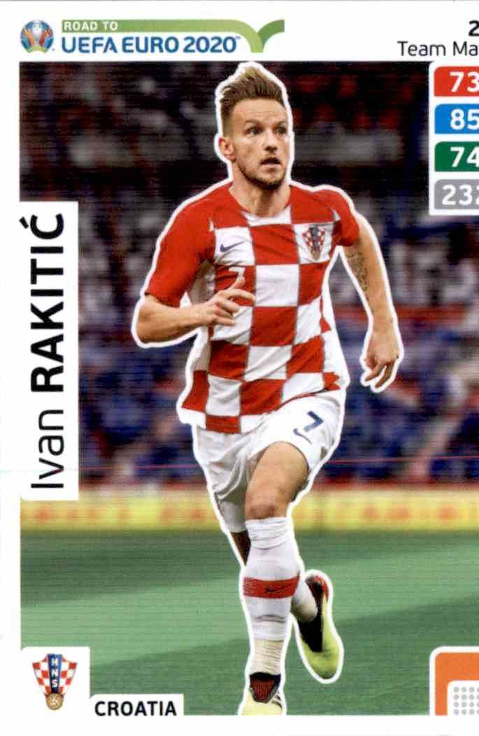 CARD PANINI ADRENALYN ROAD TO EURO 2020 N.23 BROZOVIC CROATIA