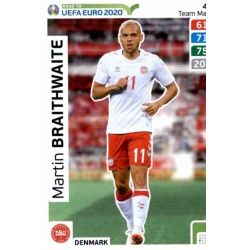 Martin Braithwaite Denmark 45