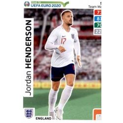 Jordan Henderson England 50