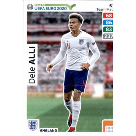 best sneakers 41636 ce0ee Offer Trading Cards Dele Alli England Adrenalyn Xl Road To Euro 2020