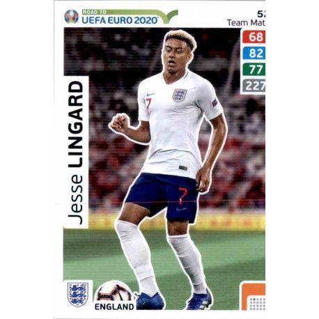 PANINI ADRENALYN XL ROAD TO UEFA EURO 2020 Limited Edition LINGARD