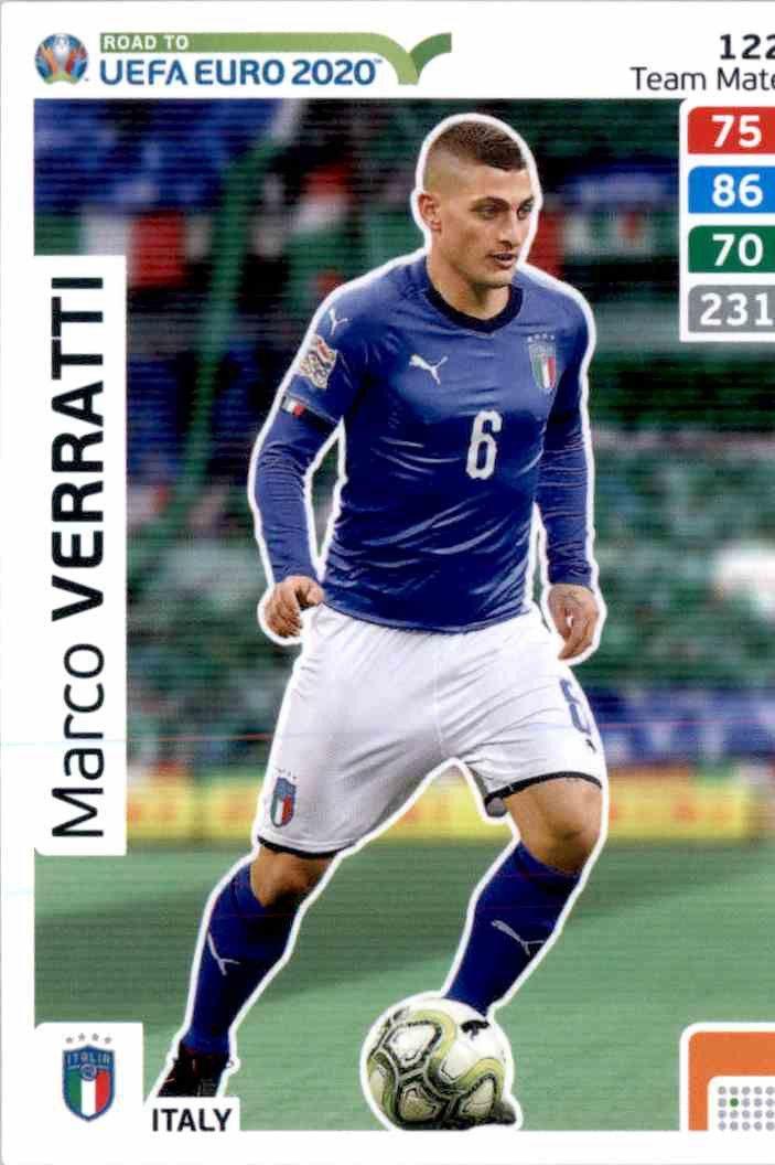 Italy Adrenalyn XL Road To Russia 2018 Marco Verratti