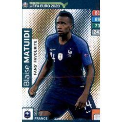 Blaise Matuidi Fans Favourite 249 Adrenalyn XL Road To Uefa Euro 2020