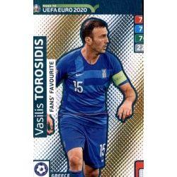 Vasilis Torosidis Fans Favourite 252 Adrenalyn XL Road To Uefa Euro 2020