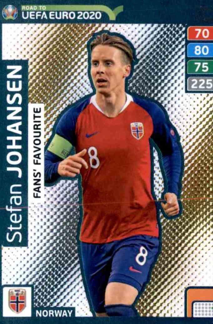 Panini Adrenalyn XL Road to Euro 2020 fans favourite nº 269 Nicolae stanciu