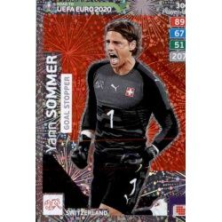Yann Sommer Goal Stopper 306 Adrenalyn XL Road To Uefa Euro 2020