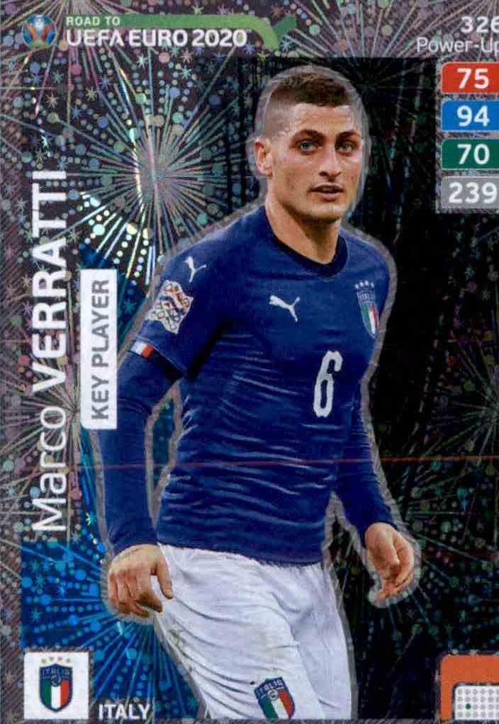 CARD PANINI ADRENALYN ROAD TO EURO 2020 N.319 DELANEY DENMARK KEY PLAYER