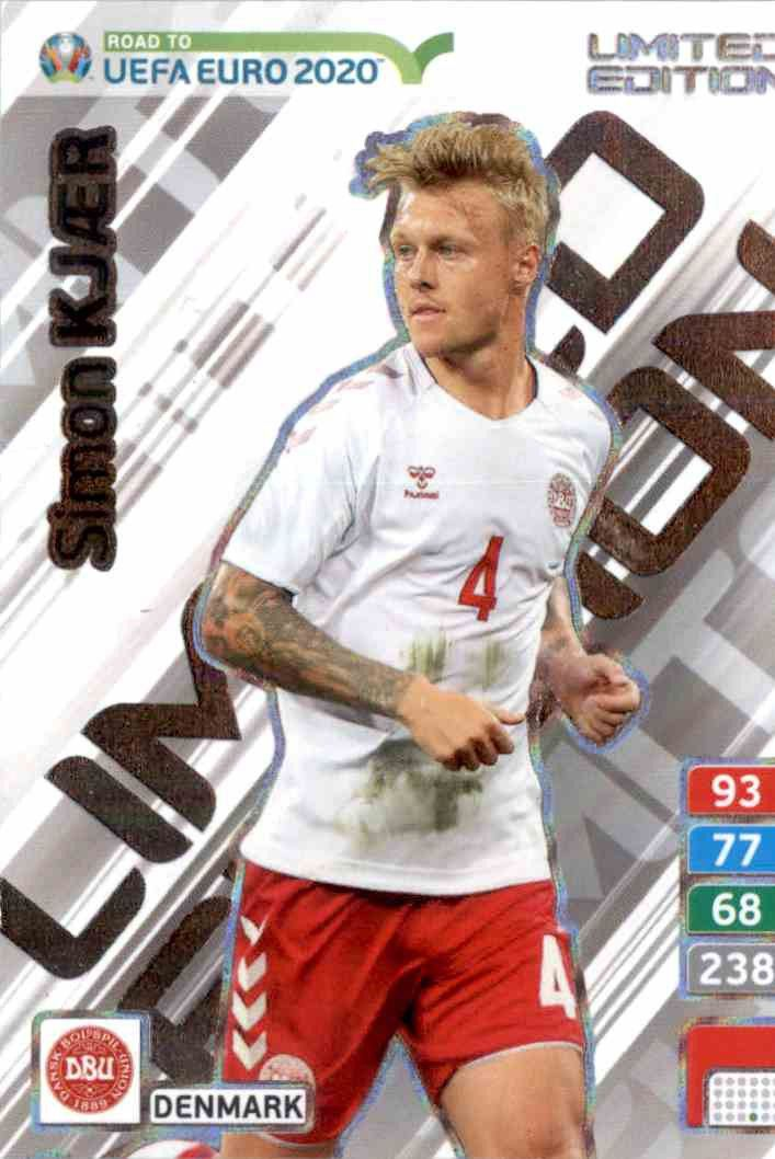 Adrenalyn XL ROAD TO EURO 2020 SIMON KJAER LIMITED EDITION CARD