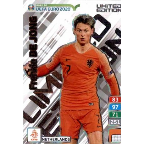 99a06f8004 Oferta Trading Cards Frenkie de Jong Limited Edition Adrenalyn Xl ...