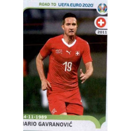 Big Offer Mario Gavranovic Panini Road To Uefa Euro 2020