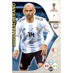 Javier Mascherano Argentina 3 Adrenalyn XL World Cup 2018