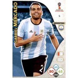 Gabriel Mercado Argentina 5 Adrenalyn XL World Cup 2018